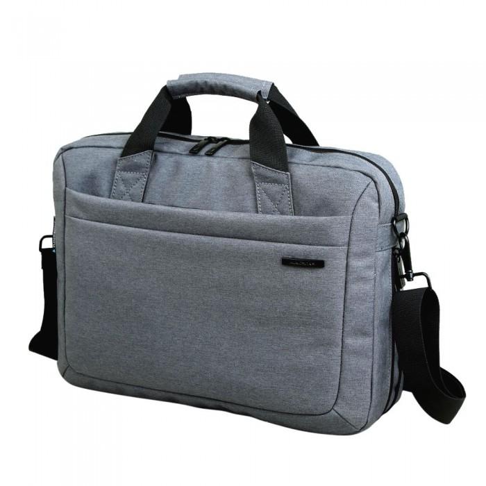 Kingsons Zipper Sleeve Carrying Handle Bag Shoulder Messenger Briefcase Computer Bag 14.1