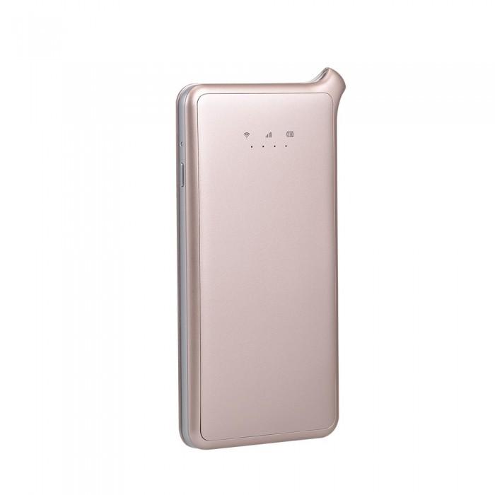 GlocalMe U2S 4G LTE Wireless Data Terminal Global Portable Wi-Fi 4G Roaming Free Hotspot SIM Card Covering 100+ Countries Champaign Gold