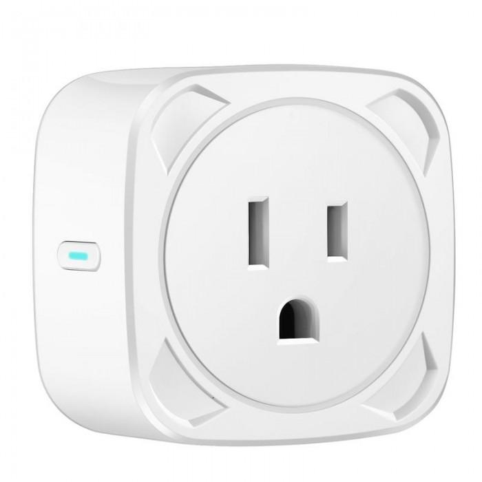 2pcs Smart Socket WIFI Mobile Phone Switch Timing Plug Voice Control Socket US Plug