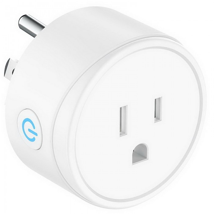 4pcs WIFI Smart Switch Socket Audio Control Smart Timing Socket Wireless Outlet US Plug