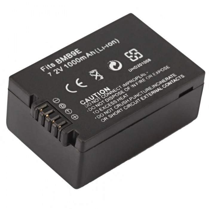 DMW-BMB9E Battery for Panasonic DMC-FZ45/FZ40/FZ48 Battery Grip