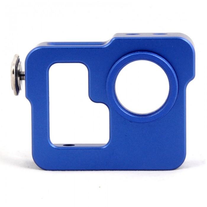 Aluminum Digital Camera Case for Gopro Hero 3 Blue