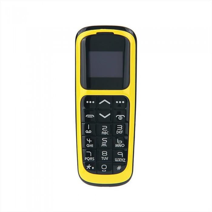 LONG-CZ V2 BT Mini Feature Phone 2G Mobile Phone 0.66-inch 64MB+64MB Big Speaker Loud Volume Voice Changer Phonebook Call SMS Alarm SOS Multilanguage FM