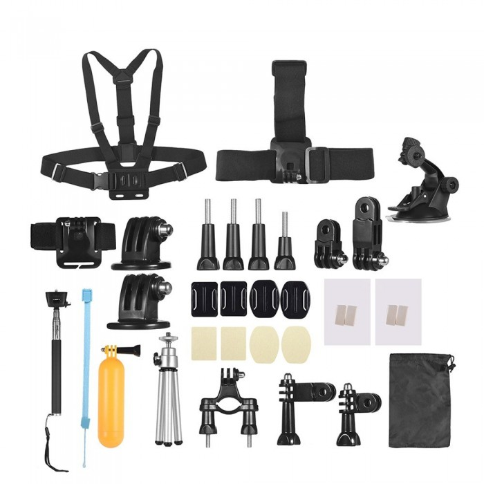 Andoer 46-In-1 Basic Common Action Camera Accessories Kit