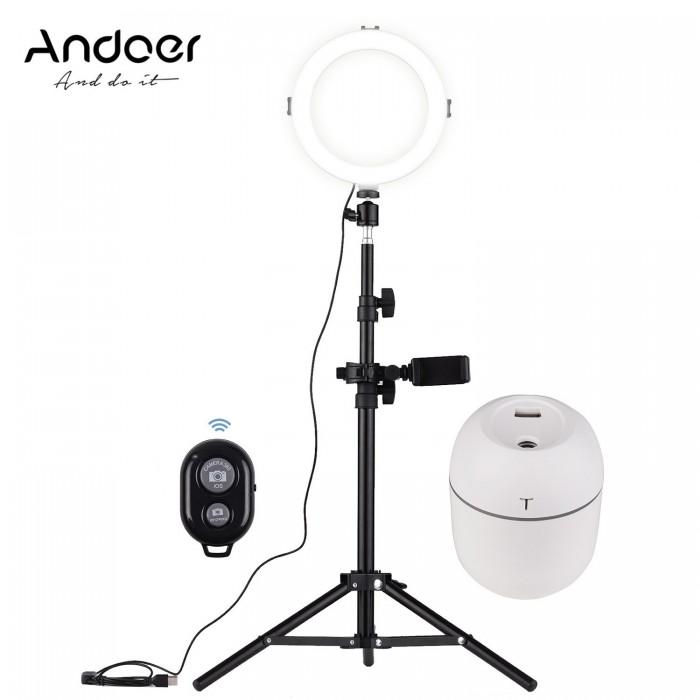 Andoer 8 Inch LED Video Ring Light