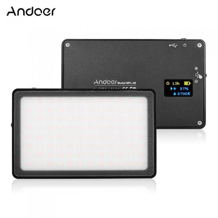 Andoer MFL-05 Mini LED Video Light