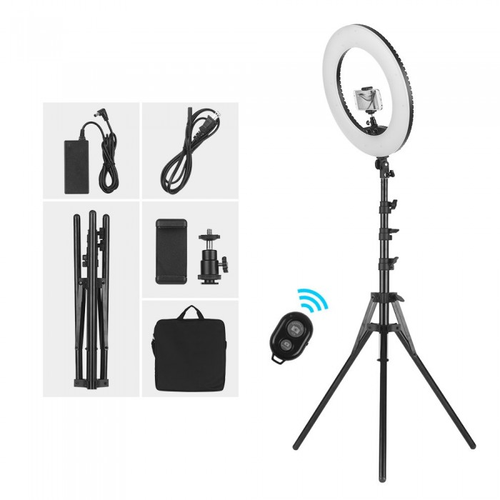 18 Inch Dimmable SMD LED Ring Light Kit