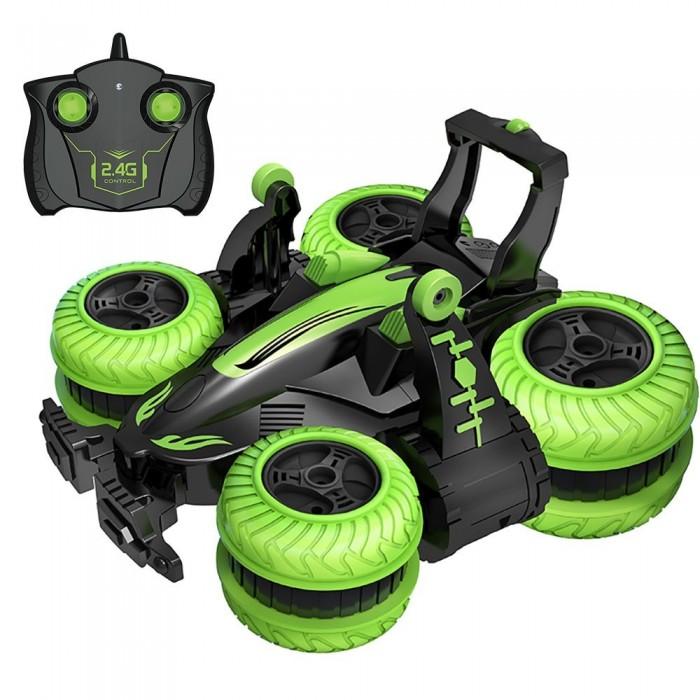 2.4Ghz 6CH RC Stunt Car 3D Rotating Drift Stunt Car Deformation Six-way Stunt Car Kids Robot Electric Boy Toys
