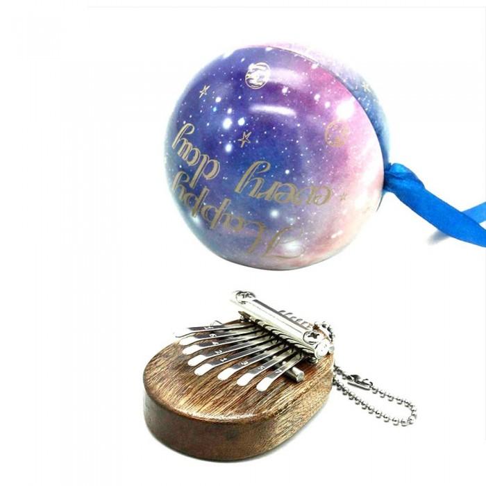 8 Key Kalimba Mini Portable Thumb Piano